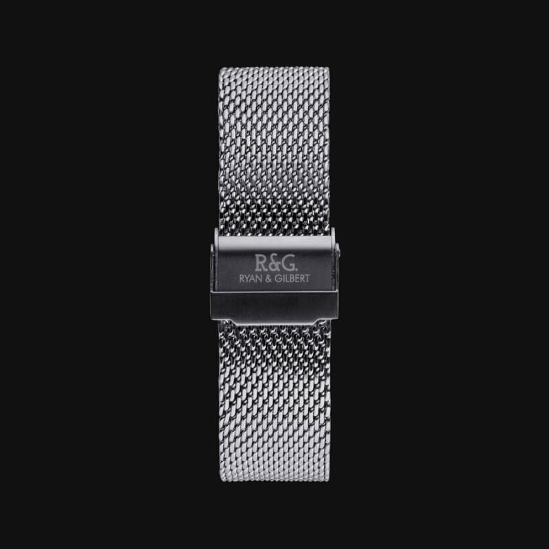 20mm-Milanese Silver