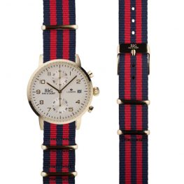 NATO Westminster Gold - Red & Navy