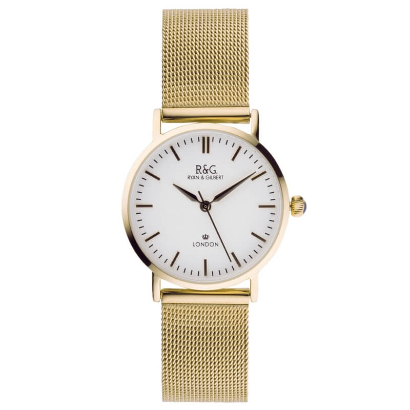 Belgravia Petite in Gold- White dial