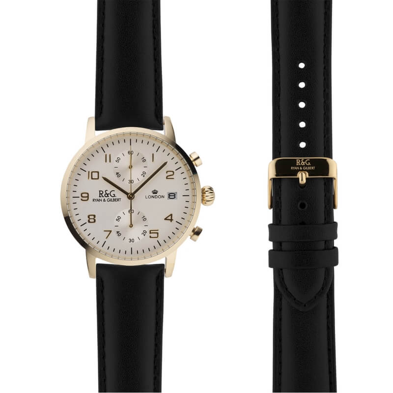 Westminster in Gold- Black Strap