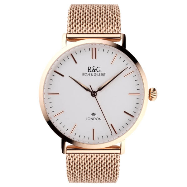 Belgravia English Rose Gold watch Front
