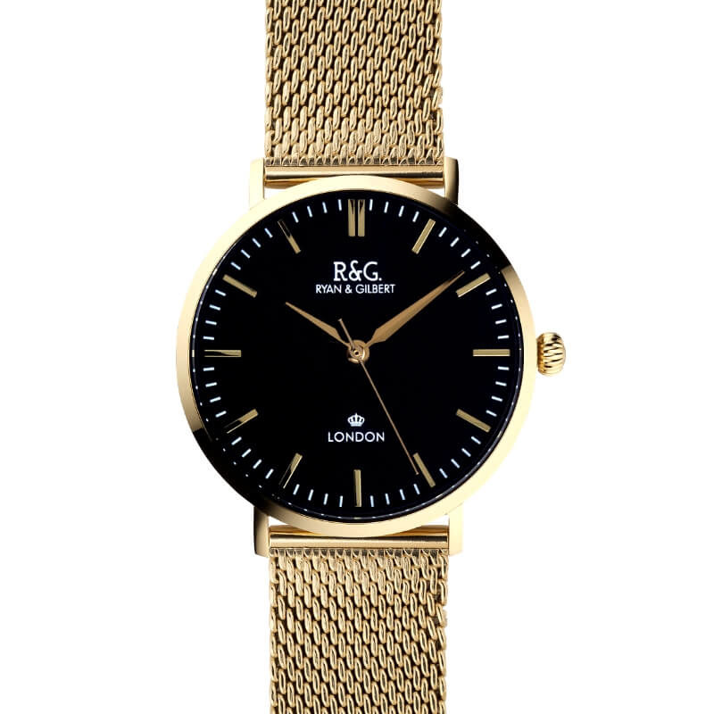 Belgravia watch Gold Black long