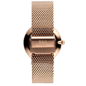 Belgravia English Rose Gold watch Rear