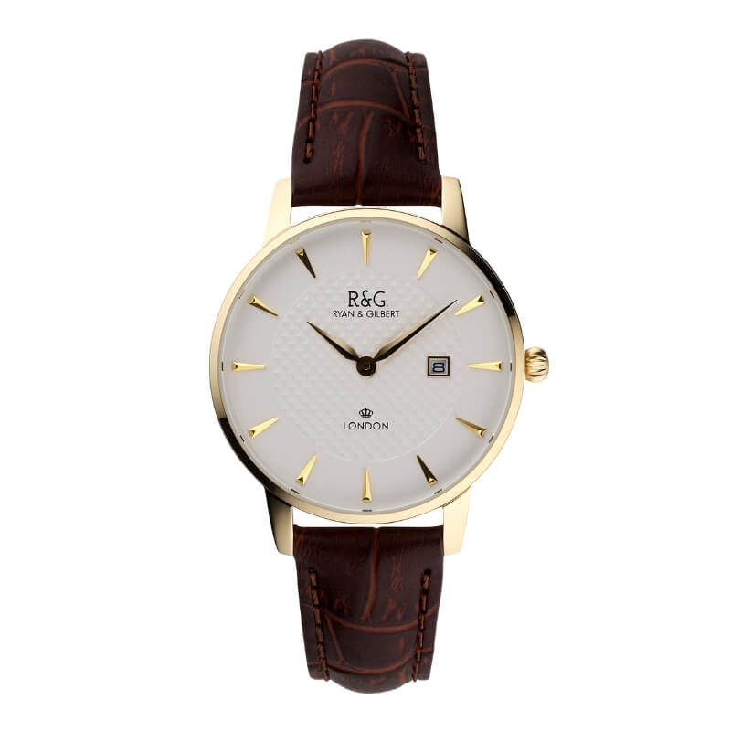Gold Mayfair watch