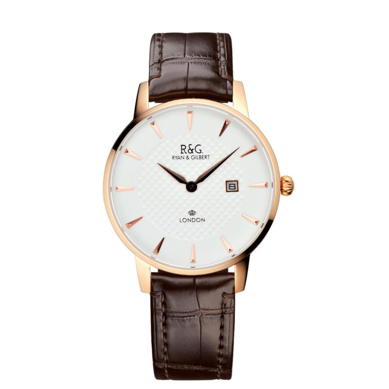Mayfair Rose Gold - Brown Al
