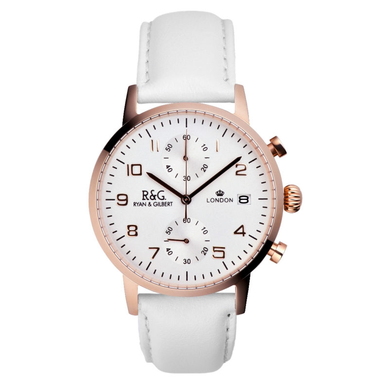 Westminster English Rose Gold - White