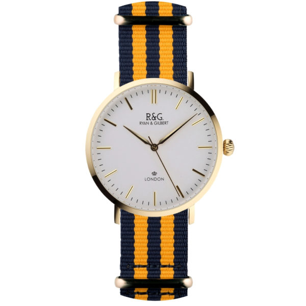 NATO Belgravia Gold / Yellow