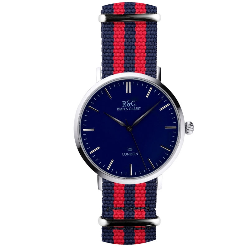 NATO Belgravia Navy / White - Red