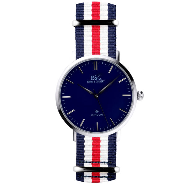 NATO Belgravia Navy / White - Red, white & Blue
