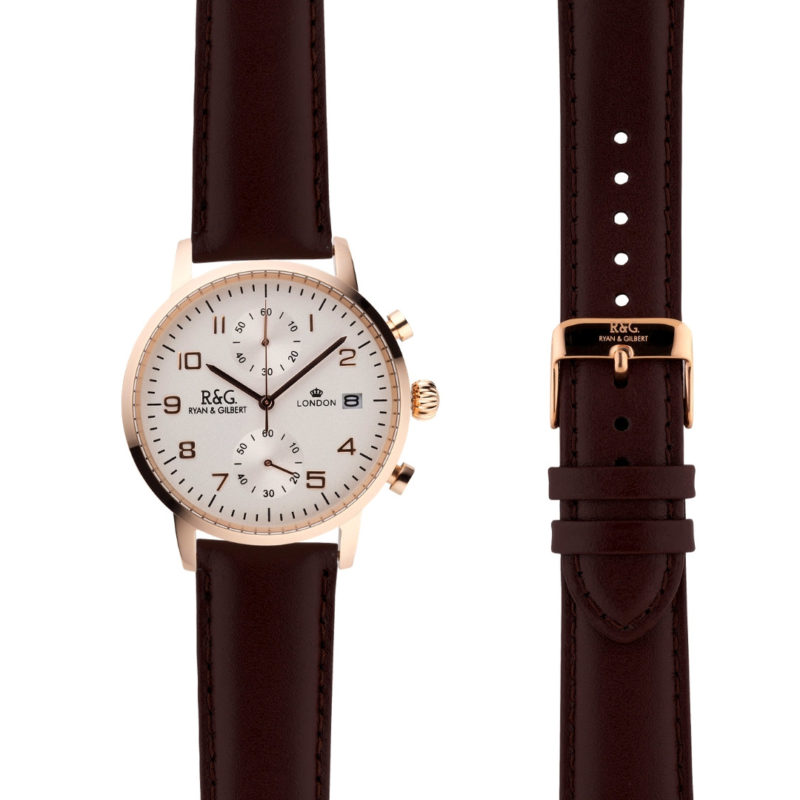 Westminster Rose Gold - Brown side by side