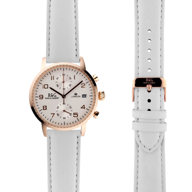 Westminster Rose Gold - White side by side