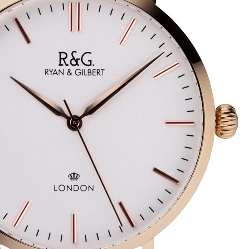 Belgravia Rose Gold- White / Front