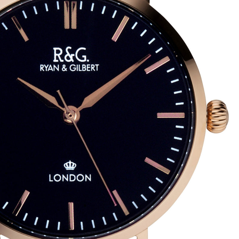 Belgravia Rose Gold- black / Front