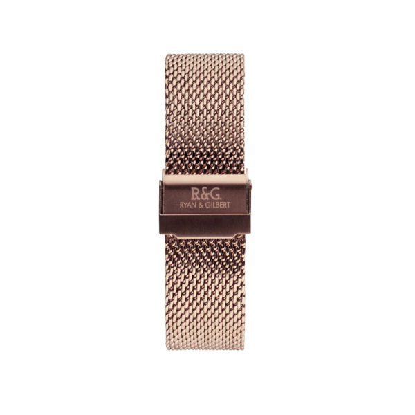 20mm | Milanese Watch band | English Rose Gold