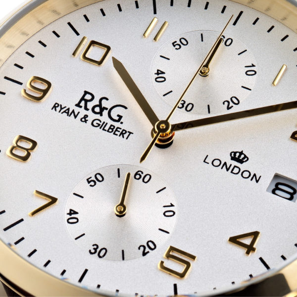 Westminster Gold - watch Close up